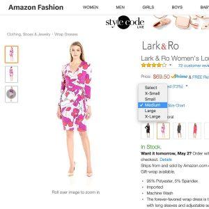 η σωστή καρτέλα προϊόντος του e-shop ρούχων
